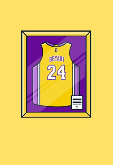 NBA明星球衣壁纸图片大全 NBA球衣壁纸高清简洁