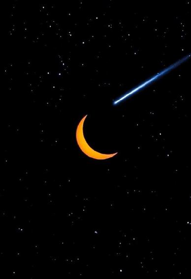 夜空壁纸高清唯美梦幻 黑色星空壁纸图片