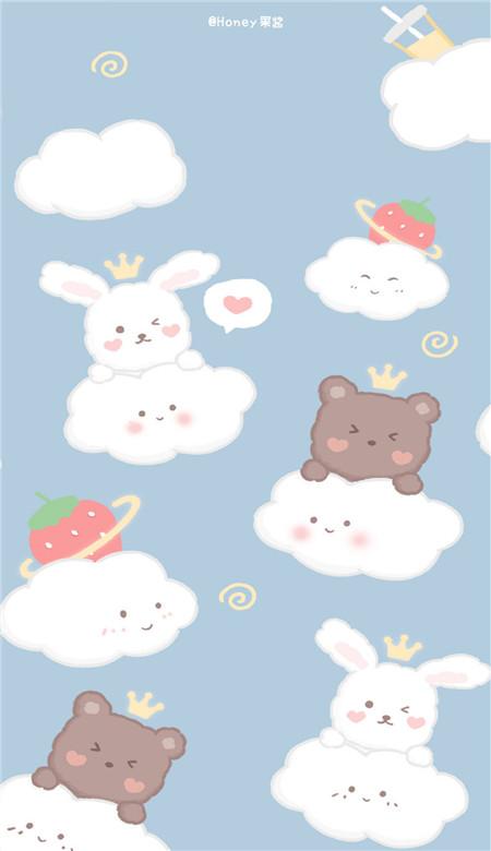 可爱卡通形象手机壁纸2020_萌萌哒日系手机壁纸图片-豪情云天 - 豪情云天网