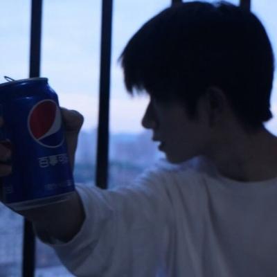 ins阳光大男孩头像帅气 请你喝可乐希望你可爱又快乐