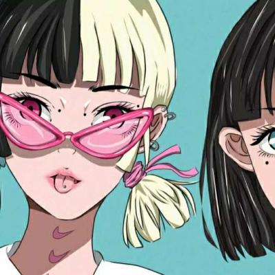 最新女生动漫可爱QQ微信图像 在细节里感动在细节里崩溃 