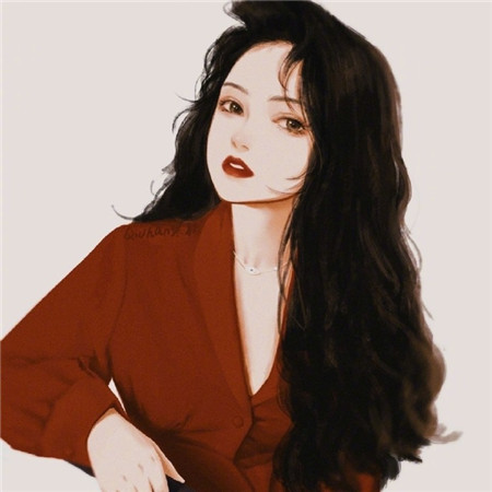 复古风手绘女生背景图片_手绘女生好看的图片素材