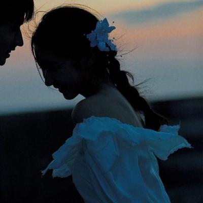 最新最热的情侣双人个性头像 满怀热爱生活会闪闪发光