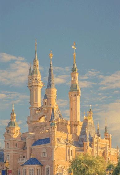 梦幻迪士尼城堡个性空间皮肤 迪士尼是一个适合做梦的地方
