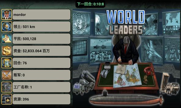 世界领导者游戏