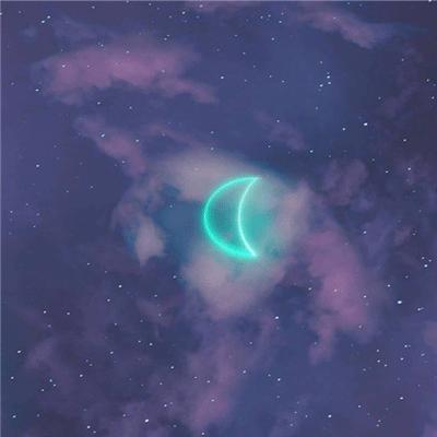 中秋节发朋友圈的星空素材图片 让整个星空祝你中秋快乐