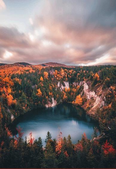 国庆壮丽山河秋季空间皮肤 秋天层林尽染美不胜收