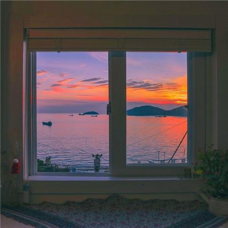 2021唯美的夕阳背景图片_夕阳下的城市意境图片素材-豪情云天 - 豪情云天网