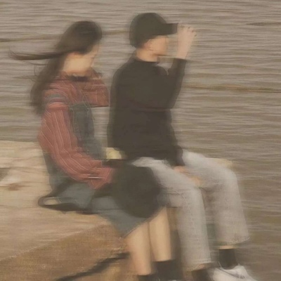 小众不明显的真人情侣头像合集 很多故事发生又消散在风中