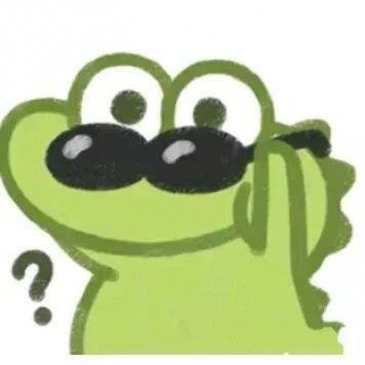 一组卡通可爱的搞怪鳄鱼头头像 没有什么好畏惧的反正我们只来一次