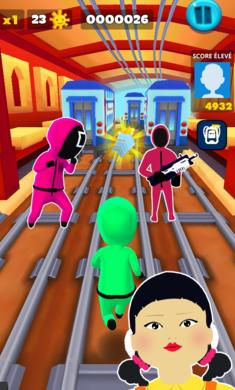 鱿鱼游戏超级跑酷v1.0 安卓版
