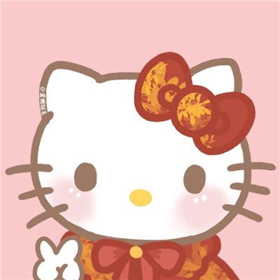 2021最新三丽鸥新年头像卡通手绘大全-云奇网