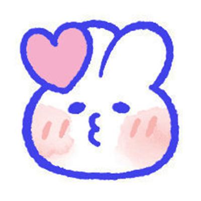 2021女生用的超可爱兔兔表情包大全-云奇网