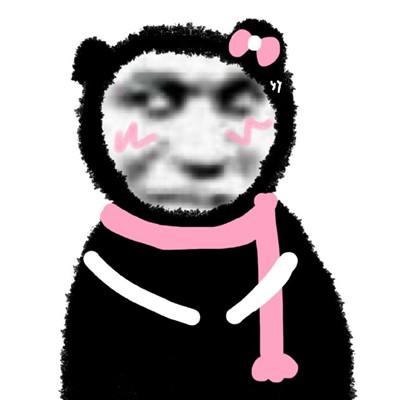 2021最新版沙雕熊猫头表情包大全-云奇网
