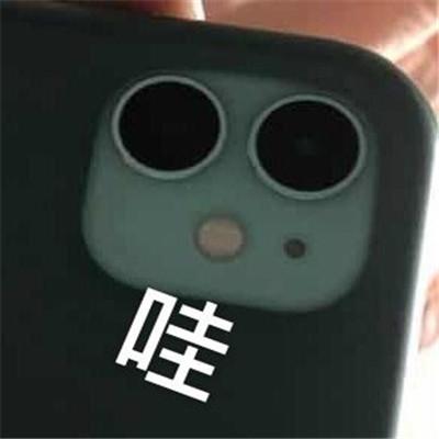 苹果后置相机奇怪又有趣的表情包大全