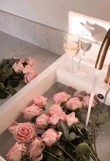 2月14情人节专属鲜花锁屏壁纸 有你在每天都是情人节