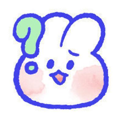 2021女生用的超可爱兔兔表情包 超级软萌的兔兔表情大全
