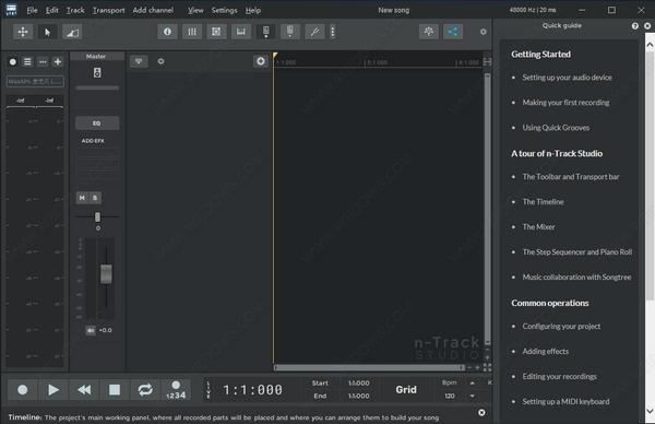 n-Track Studio Suite(多音轨音乐制作工具)v9.1.3.3748 官方版