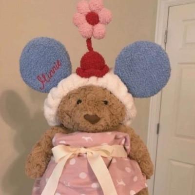 很可爱的卡哇伊的萌萌玩偶小熊头像 不问
