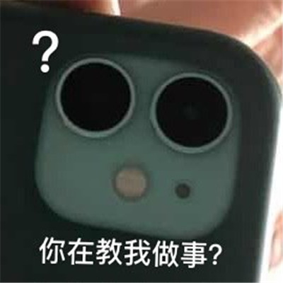 苹果后置相机奇怪又有趣的表情包 超级有趣的逗比表情包