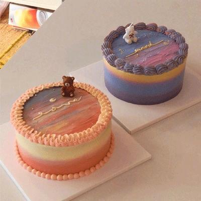 很有质感的复古是生日蛋糕图片 2021很流行的ins风生日蛋糕合集