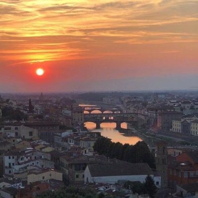 最新好看的唯美日落风景头像大全大全-云奇网