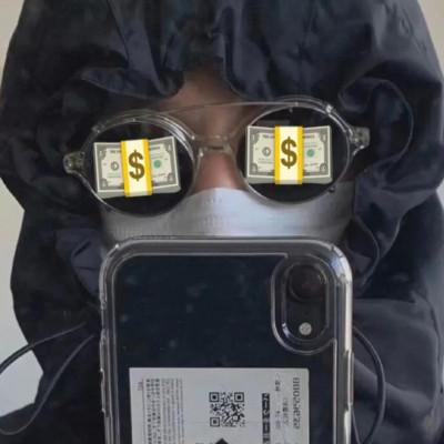 满眼都是钱的微信可爱头像2021大全-云奇网