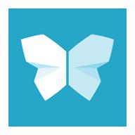 扫描宝app蝴蝶标志