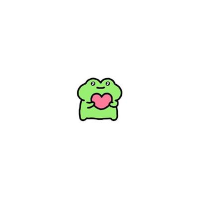 网红小青蛙简约小头像大全 纵是千千晚星不敌灼灼月光