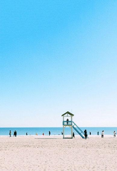 唯美海边风景壁纸全新的治愈系壁纸 平平安安大概是这个世界上最美好的词了