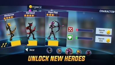 火柴人传奇弓箭手无限金币版v1.0.10 最新版