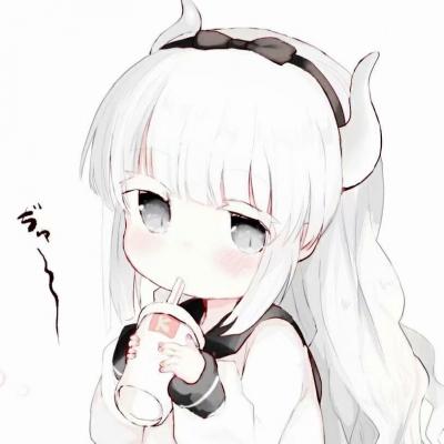 2021白色系女生动漫头像大全-云奇网