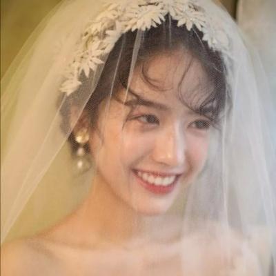 2021绝美复古的婚纱系列女生头像大全大全