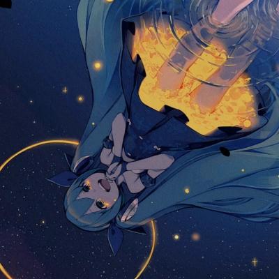 小清新动漫唯美意境的女生卡通头像大全-云奇网