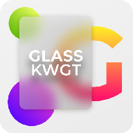 Glass KWGT官方下载v1.1 安卓最新版