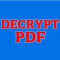 Free Decrypt PDFv1.0 官方版