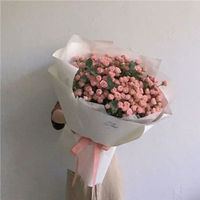 520浪漫唯美的玫瑰花束图片 只愿细水长流是你白首也是你