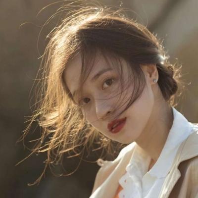 日系风格的甜美女生好看微信头像 词不达意的话就把爱意留在心底