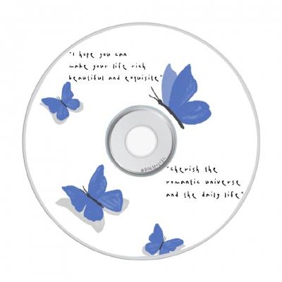 最新可爱美化光碟头像 不要把别人的决定当做自己的选择