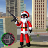 圣诞火柴人绳索英雄v1.4 安卓版