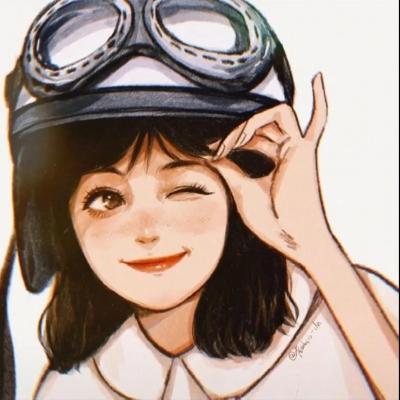 短发萝莉女生卡通萌头像大全 热门又好看的卡通头像