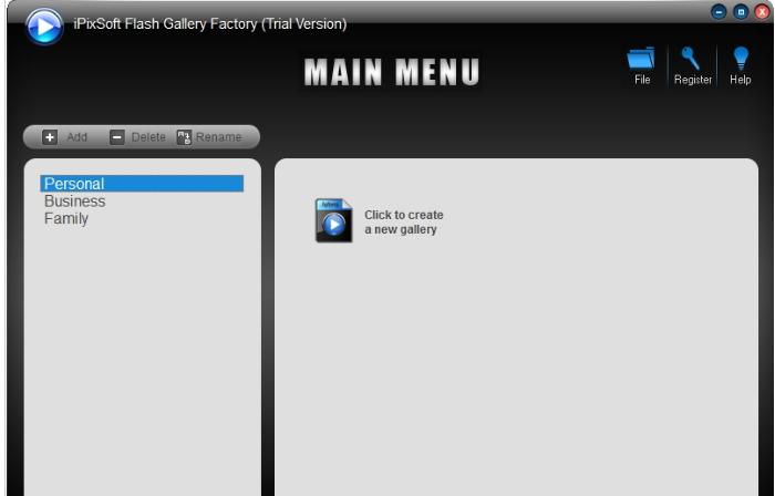 ipixsoft flash gallery factory