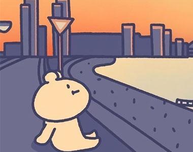 简约卡通清新可爱萌系套图壁纸 喜欢不是随随便便就可以开始和结束的事情