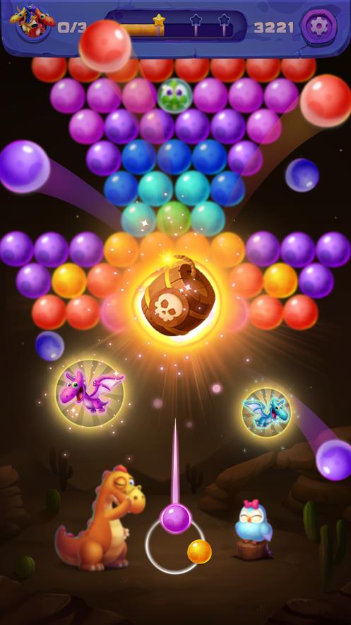 恐龙泡泡射手蛋射击iOS版v1.03 官方版