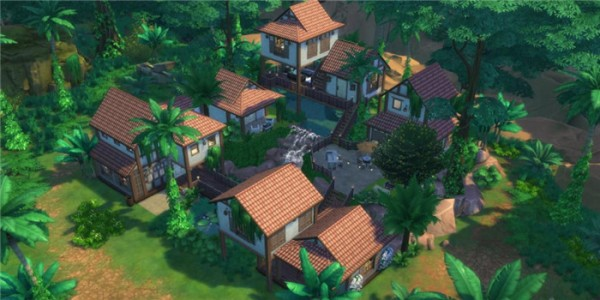 自由建造房屋的游戏大全