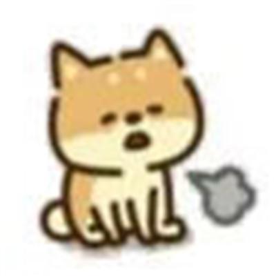 热门可爱柴犬可爱的卡通表情精选 如果一直想见谁迟早肯定见得到
