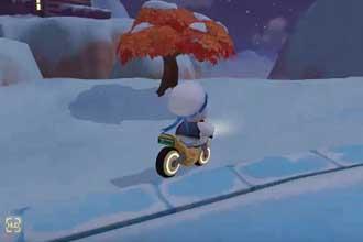 摩尔庄园手游雪山在哪儿 摩尔庄园手游雪山bug怎么爬