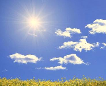 天气晴朗阳光明媚的心情说说大全