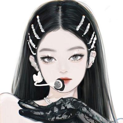 最新自制Jennie手绘好看的背景图 撩人是我的爱好动心就是你的不对了