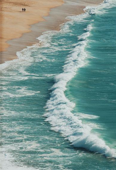很舒心的经典华为手机海浪壁纸 相识于人海最后还是要归还于人海的